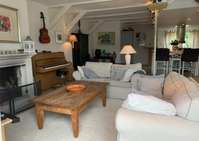 Holiday home at the water near Amsterdam, boat for rent